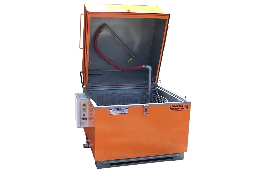 New Option for Stainless Steel Rotary Parts Cleaner