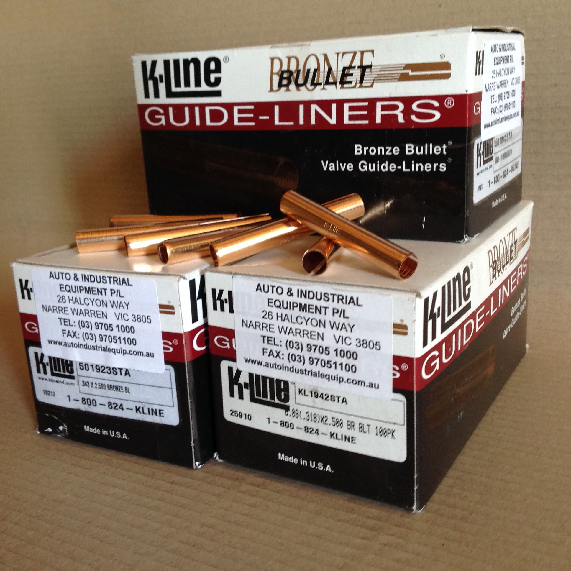 K-Line Guide Liners November Special